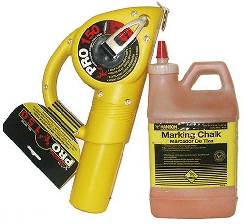 UPC 081834127026, CH Hanson 12702 Pro 150 Chalk Reel with Bonus 2-1/2 Pounds Red Chalk