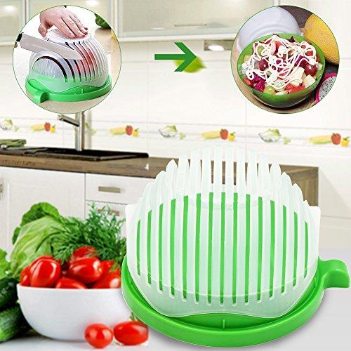 Anteboom Salad maker,1 PC Salad cutter bowl/Salad Shooter-Vegetable Salad chopper&Cutter Bowl in 60 Seconds