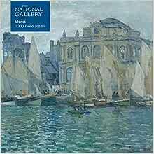 Adult Jigsaw National Gallery Monet 1 1000 piece jigsaw Bridge over Lily Pond