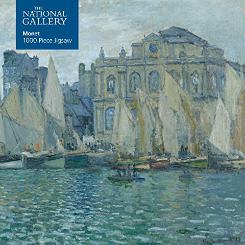 Adult Jigsaw National Gallery: Monet The Museum at Le Havre: 1000 piece jigsaw (1000-piece jigsaws): 1000-piece Jigsaw Puzzles Paperback – 5 April 2019