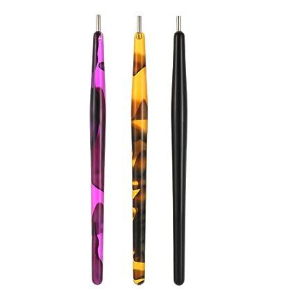 Anself 1PC Nail Art 3d decoración de uñas Magnético bolígrafo gatos ojos polaco manicura herramienta de