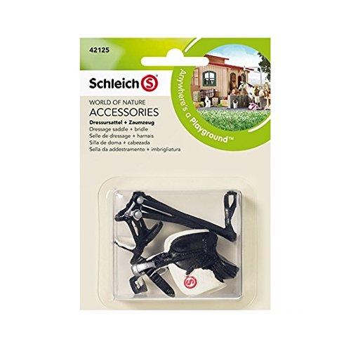 ca Dressage Saddle + Bridle Toy Figure (Saddle Bridle)