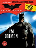 Batman Begins Color and Activity Book with Tattoos, , 0696223910