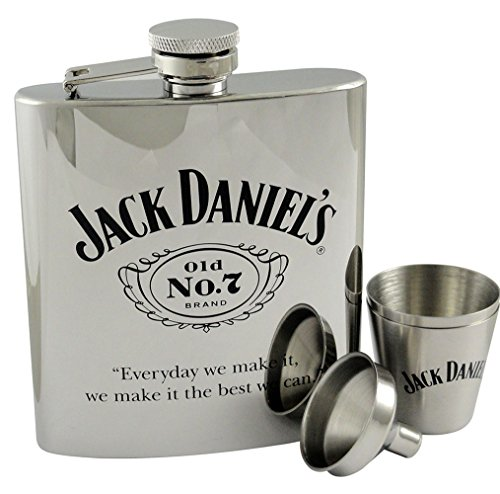 Jack-Daniels-7oz-Stainless-Steel-Flask-with-Funnel-and-Shot-Glasses