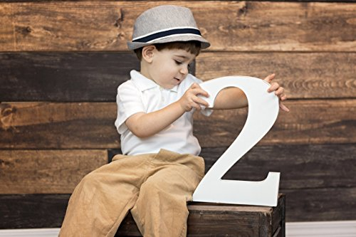 2 Sign Toddler Photo Prop for 2nd Birthday Two Years Kids Photography Prop Birthday Photo Shoot Prop Wooden Number Sign