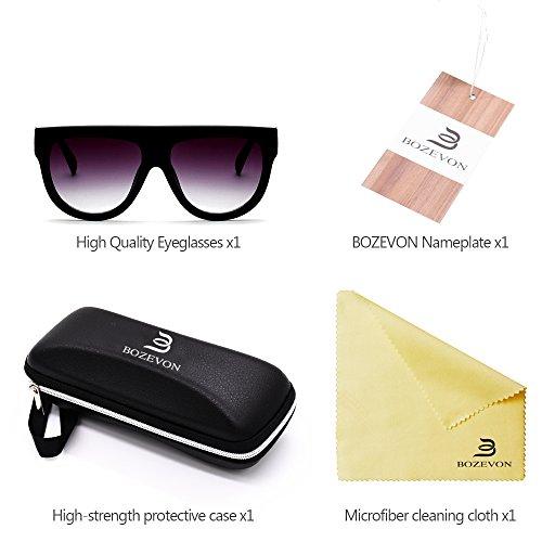 Gafas Mujer Siamese Estilo al BOZEVON sol Hombre Gafas libre aire y de 04 Nuevo Moda deporte UV400 para Pn1BR