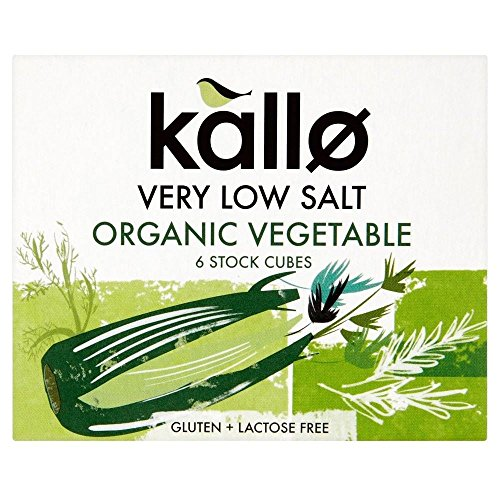 Kallo Organic Very Low Salt Vegetable Stock Cubes  6X10g