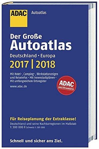 Großer ADAC Autoatlas 2017/2018