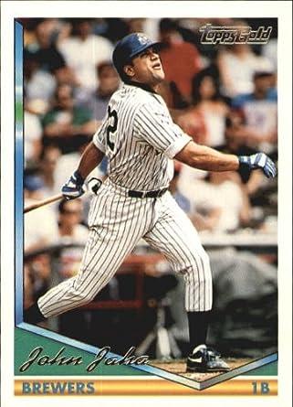 Amazoncom 1994 Topps Gold Baseball Card 283 John Jaha Mint