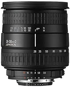 Sigma Compact Hyperzoom Asph. IF 28-200mm 28-200 mm 3.5-5.6 D Macro -- Nikon AF
