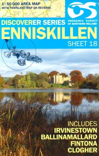 Sheet 18 ENNISKILLEN (Irish Discoverer Series)