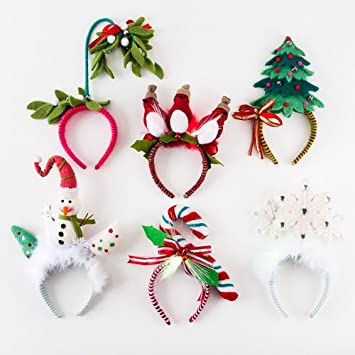 Christmas Headband Craft.Amazon Com One Hundred Eighty Degrees Christmas Headbands