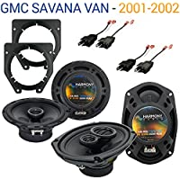 GMC Savana Van 2001-2002 Factory Speaker Replacement Harmony R65 R46 Package