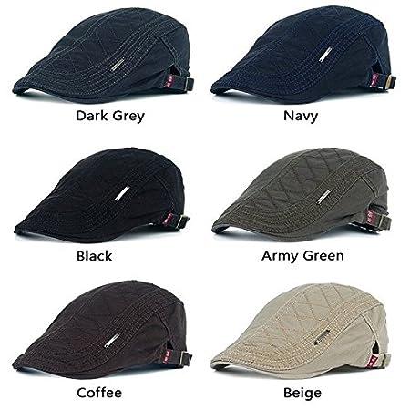 wangxiyan - Gorras de algodón para Hombre, diseño Casual con ...