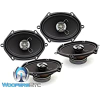 2 Sets of Focal R-570C 5x7 120W RMS 2-Way Auditor Series Coaxial Speakers