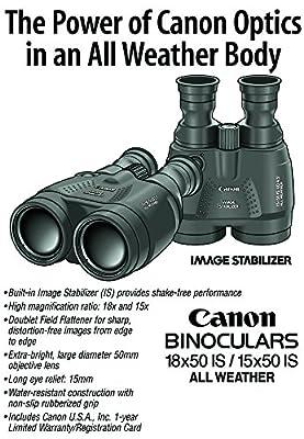 Canon Image Stabilized Binocular Bundle