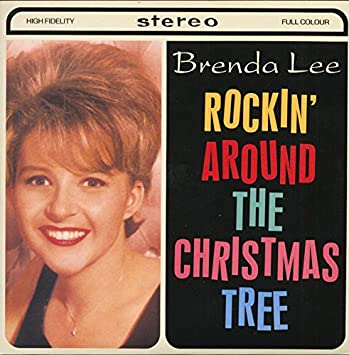 Rockin' Around The Christmas Tree - Let's Jump The Broomstick (7inch, 45rpm, - Brenda Lee - Rockin' Around The Christmas Tree - Let's Jump The