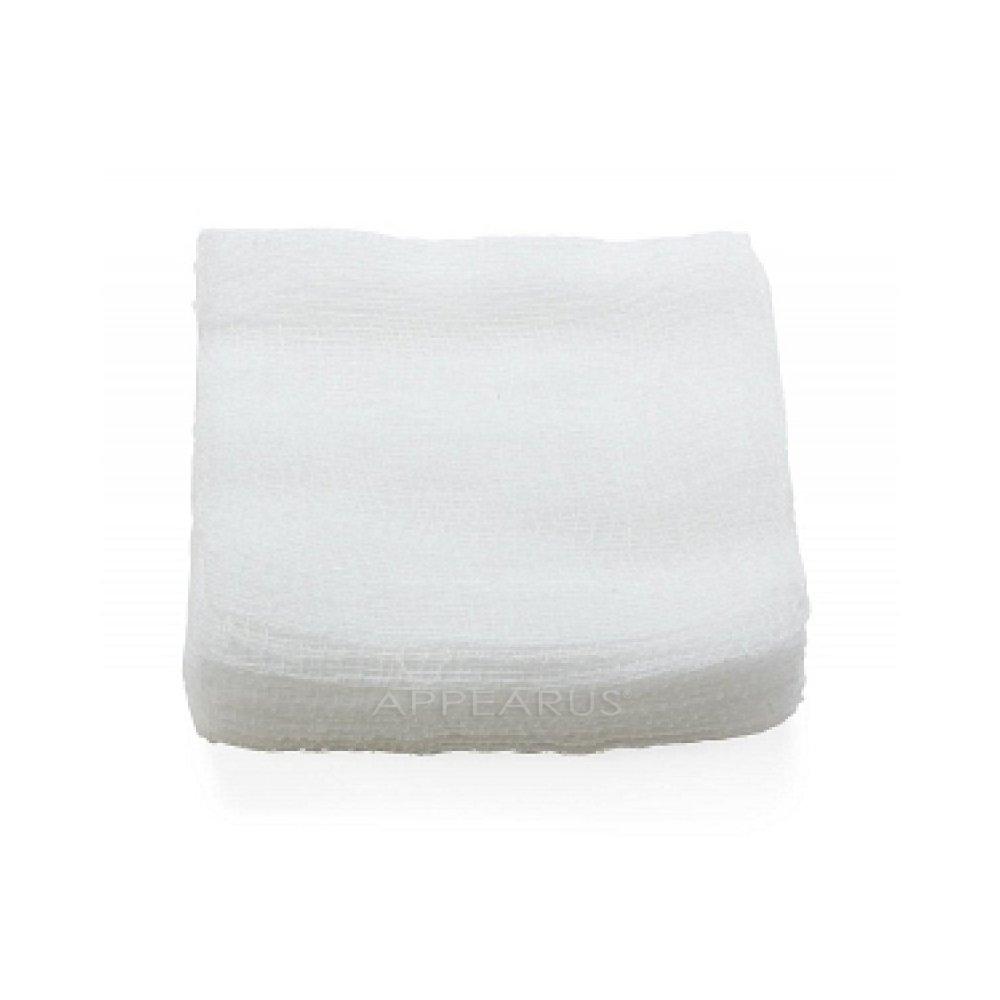 4x4 100% Cotton Esthetic Gauze Pads (200 Count)