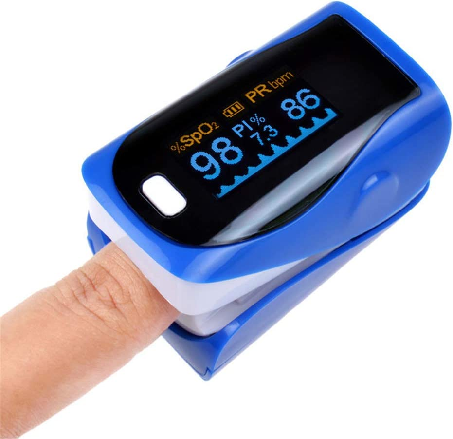 ZL Oximetro Pantalla OLED oxímetro de Dedo portátil yema del Dedo presión de respiración frecuencia de sueño monitorización en casa