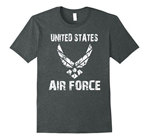 Mens United States Air Force Original T Shirt Large Dark Heather