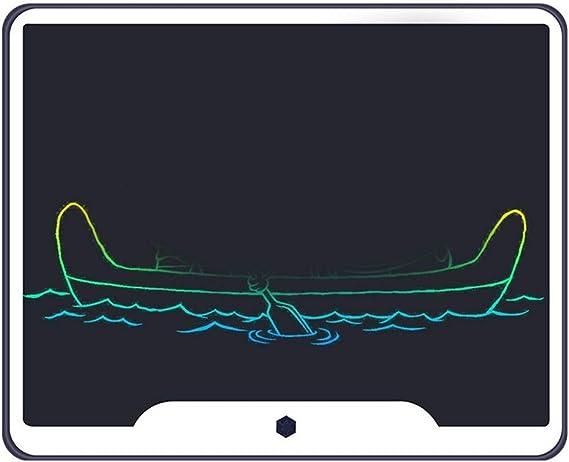 LCDライティングタブレット15インチカラフルなデジタル電子グラフィックタブレットポータブルボード手書き描画 ペン&タッチ マンガ・イラスト制作用モデル (Color : Navy)