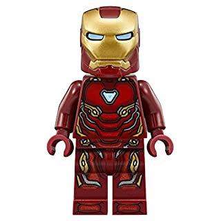 LEGO Marvel Super Heroes Avengers Infinity War Minifigure - Iron Man Tony Stark (76108)