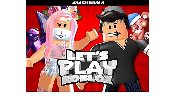 Amazoncom Clip Lets Play Roblox Bigbst4tz2 Machinima - roblox murder mystery a denisdaily clone