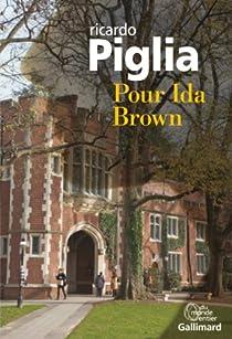 Pour Ida Brown par Piglia