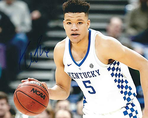 Autographed Kevin Knox 8x10 Kentucky Wildcats Photo -