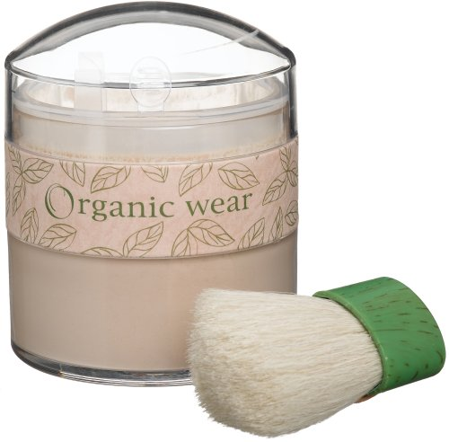 Physicians Formula Organic Wear 100% Natural Loose Powder, Beige Organics, 0.77-Ounces Jar - Natural Origin Pressed Powder