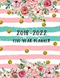 2018-2022 Five Year Planner: Five Year Monthly, 60 Months Calendar Yearly Goals Monthly, Agenda Planner for the Next Five Years, Planner for College, ... Year Monthly Calendar Planner (Volume 2)