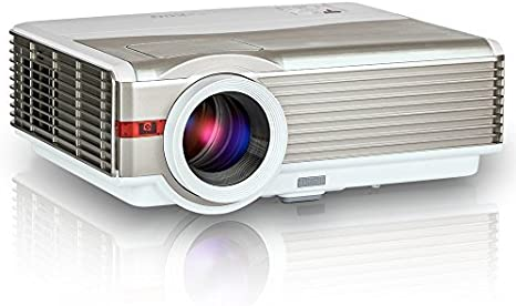 EUG Video Projector, 3000 Lúmenes Home Cinema Theater Multimedia ...