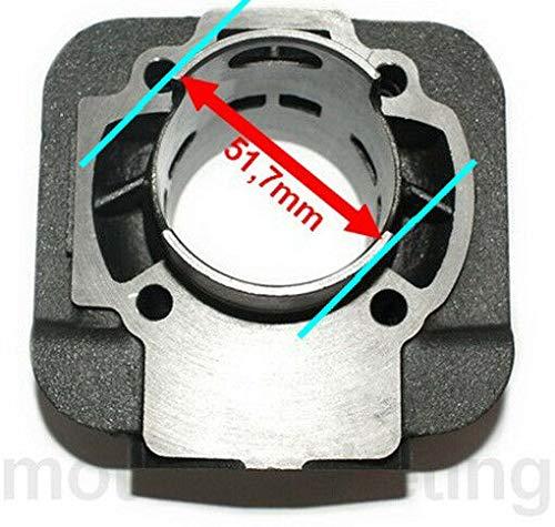 Unbranded 70cc Modifica D.47 Cilindro Gruppo Termico Kit Set per Piaggio Zip SP RST SSL 50