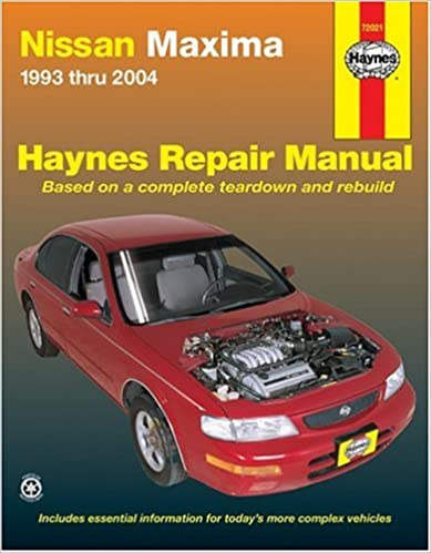 Nissan maxima 1993 thru 2004 haynes repair manuals bob henderson nissan maxima 1993 thru 2004 haynes repair manuals bob henderson john h haynes 9781563925948 amazon books fandeluxe Choice Image