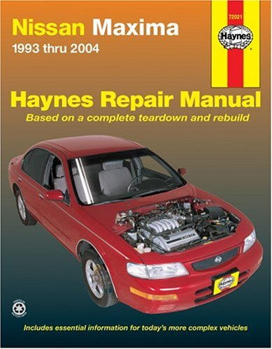 Nissan Maxima 1993 thru 2004 (Haynes Repair Manuals)