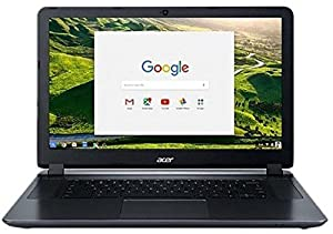 "Acer Flagship CB3-532 15.6"" HD Premium Chromebook - Intel Dual-Core Celeron N3060 up to 2.48GH.z, 2GB RAM, 16GB SSD, Wireless AC, HDMI, USB 3.0, Webcam, Chrome OS (Certified Refurbished) by Acer"
