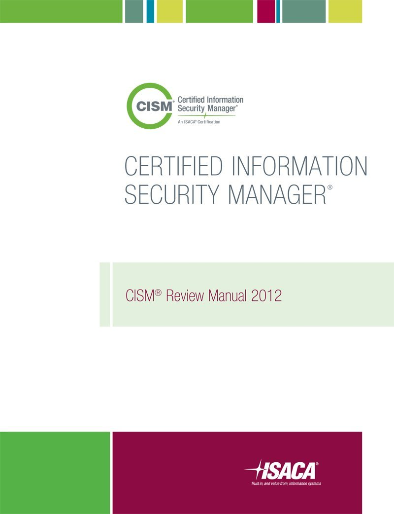 Cism review manual 2012 isaca 9781604202137 amazon books 1betcityfo Choice Image