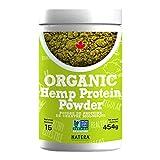 NATERA Organic Hemp Protein Powder with EXTRA Fibre (454 g) | Best Natural