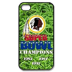 Custom Washington Redskins Case for iPhone 4 4s