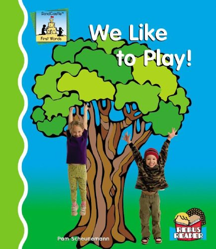 We Like To Play First Words Amazon Co Uk Scheunemann Pam Books