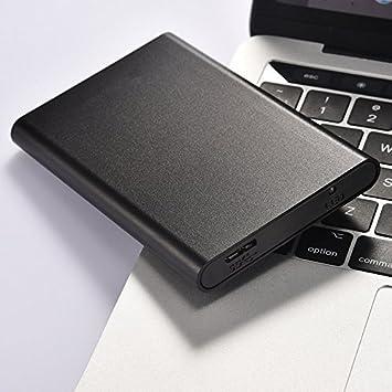 computadora de Escritorio y port/átil Playstation 4 2TB, Negro PC Xbox One Mac FLYNOW Elementos de Disco Duro Externo port/átil USB 2.0 de 1 TB // 2 TB para PC