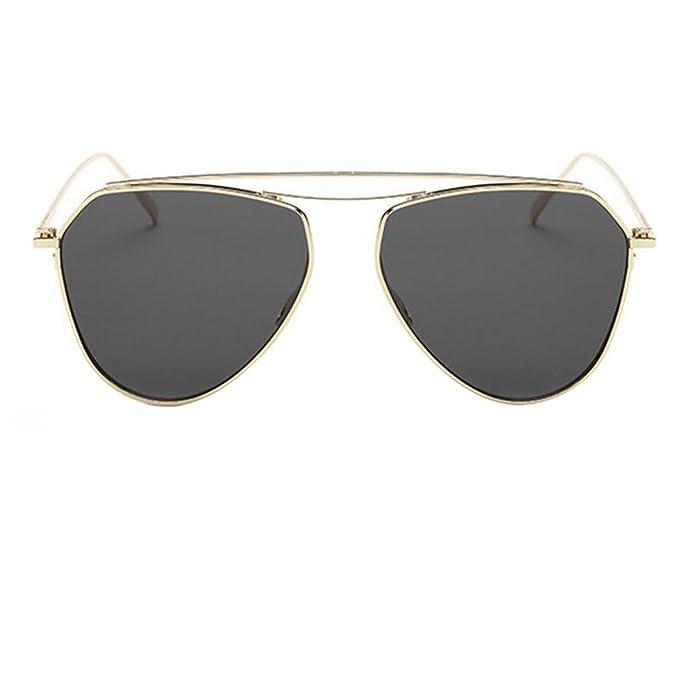 2a87255c84 HSNZZPP Gafas De Sol De Metal De Alta Gama De Colores Gafas De Sol Los  Hombres Y Las Mujeres Con Gafas De Sol, A-OneSize: Amazon.es: Ropa y  accesorios