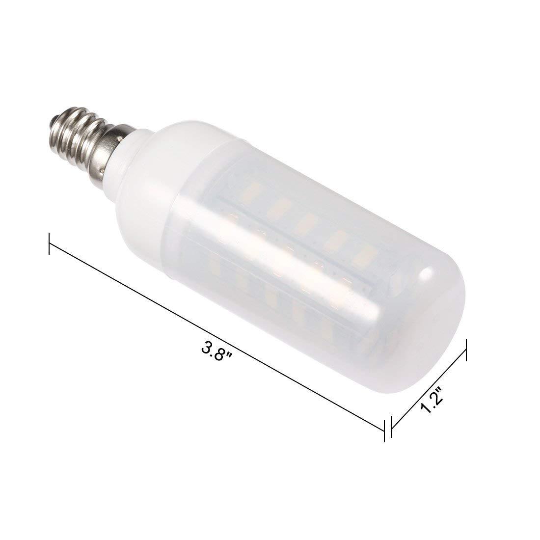 Bombillas LED ALCOMPRA E12, Bombillas LED Candelabros de 7W ...