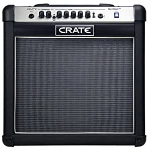 crate flexwave fw15r guitar amp combo with reverb 15 watt single 12 speaker. Black Bedroom Furniture Sets. Home Design Ideas