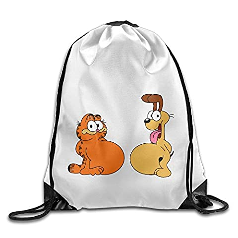 Bekey Garfield Et Cie Training Gymsack For Men & Women For Home Travel Storage Use Gym Traveling Shopping Sport Yoga (Tom And Jerry Notebook)
