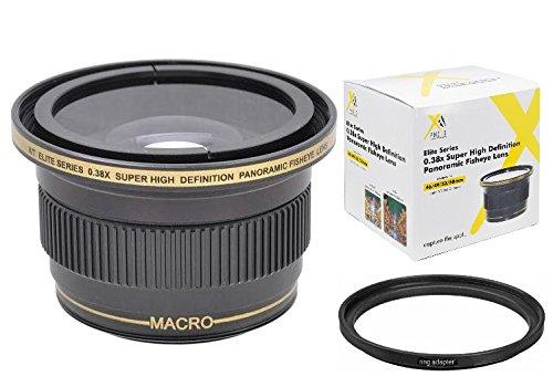 Xit 0.38x Panoramic Fisheye Lens for Canon Vixia HF R800