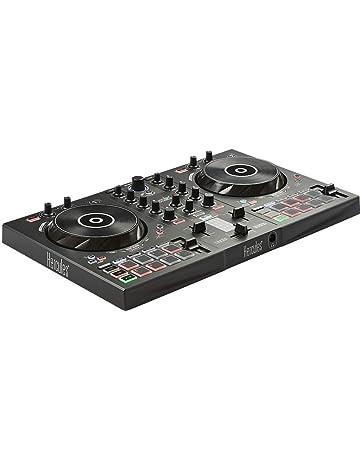 Hercules – DJControl Inpulse 300 – Controlador DJ USB – 2 Pistas con 16 Pads y