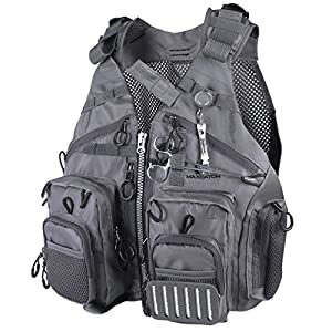 Maxcatch fly fishing vest with accessories for Fishing vest amazon