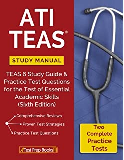 Ati teas secrets study guide teas 6 complete study manual full ati teas study manual teas 6 study guide practice test questions for the test fandeluxe Choice Image