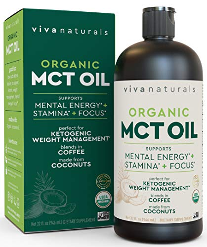 Organic MCT Oil for
